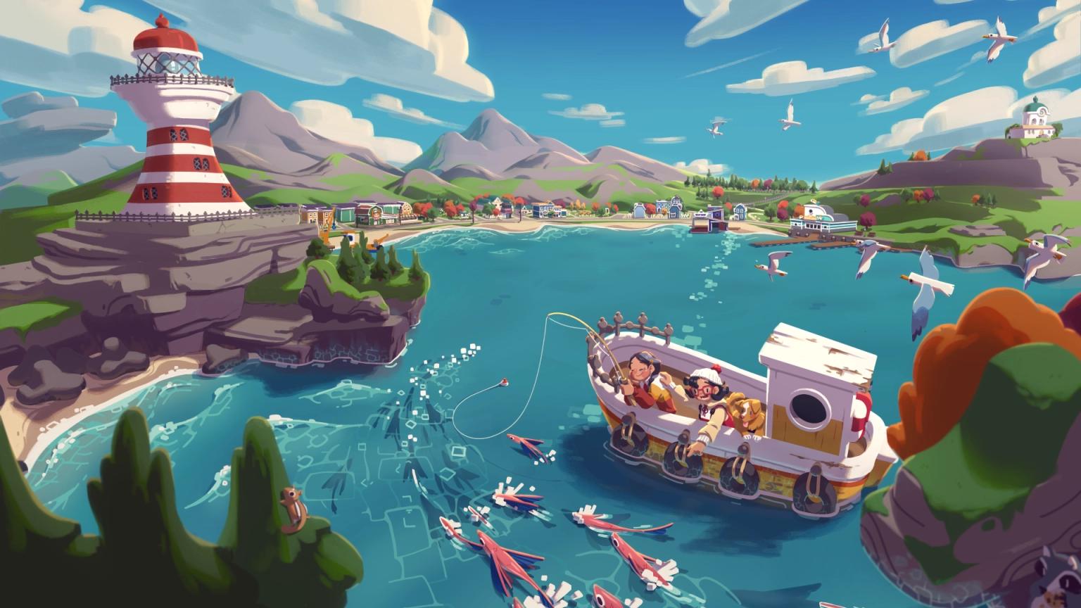 《Moonglow Bay》展示了超可愛的遊戲畫面 thumbnail