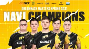 Natus Vincere are the DreamHack Masters Spring 2021 Champions