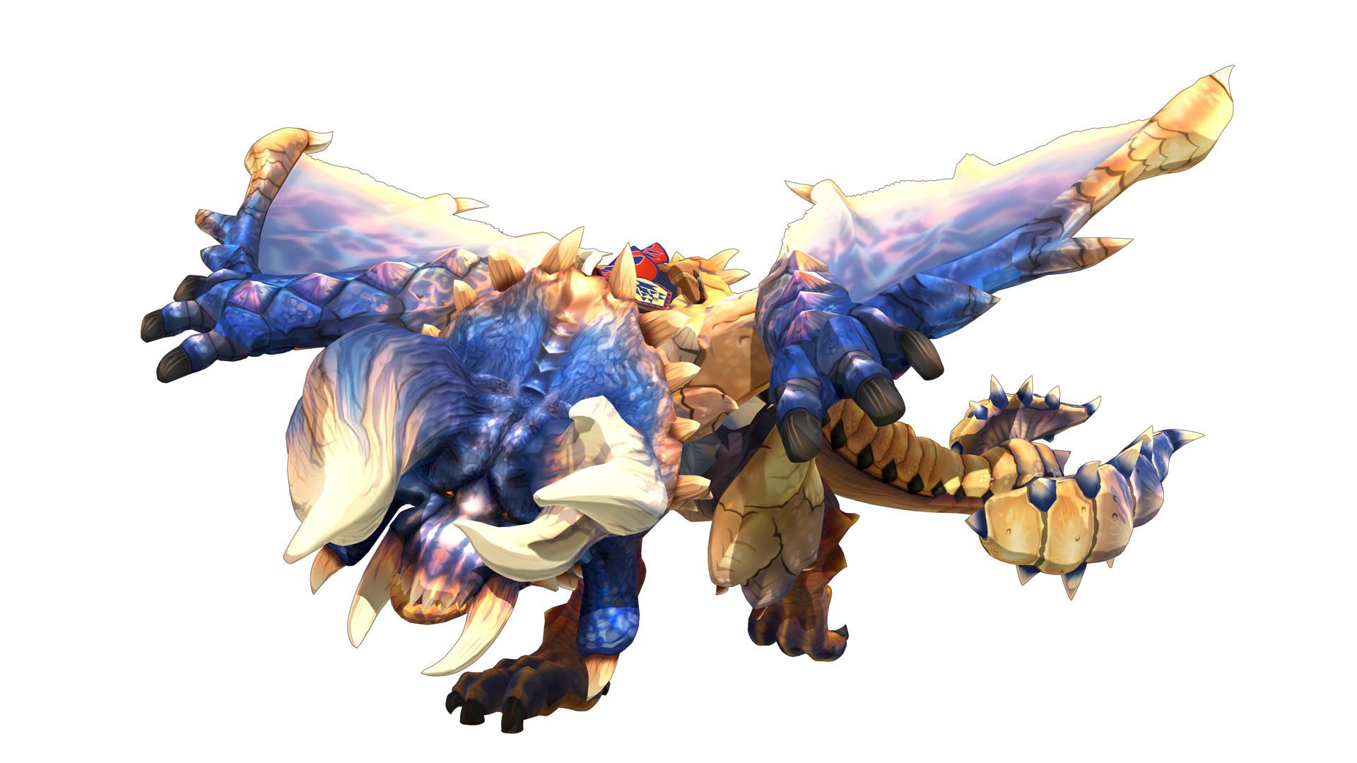 《怪物猎人物语2-毁灭之翼》公开发售后,免费游戏更新和授权后物品详情。  -怪物猎人物语2:毁灭之翼