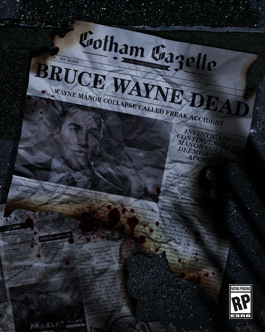 《高譚騎士》暗示蝙蝠俠之死 thumbnail