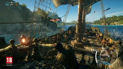 Skull and Bones - E3 2017 Multiplayer Gameplay Walkthrough