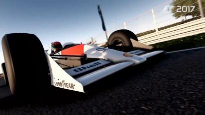 F1 2017 - Lando Norris McLaren Gameplay