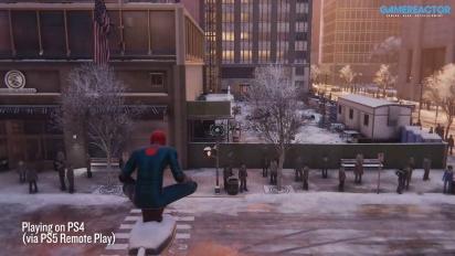 《蜘蛛人:邁爾斯摩拉斯》- 在PS4上透過遠端操控串流玩PS4遊戲