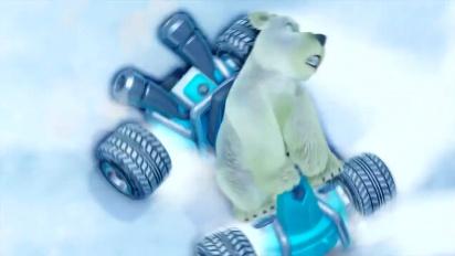 Crash Team Racing Nitro-Fueled - Polar Gameplay Teaser