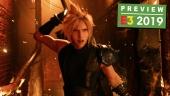 《Final Fantasy VII: 重製版》- E3 預覽