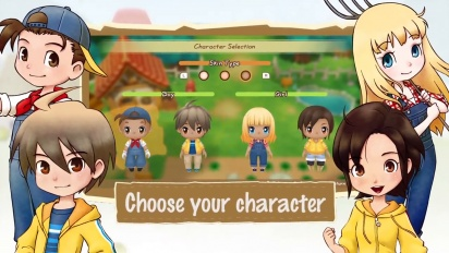 Story of Seasons: Friends of Mineral Town - Launch Trailer