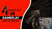 《惡靈古堡4 VR》- 前30分鐘 Gameplay