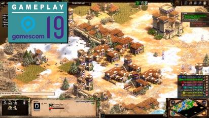 《世紀帝國2:決定版》- Gamescom Gameplay