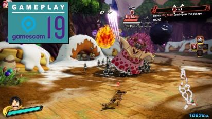 《航海王 海賊無雙4》- Gamescom Gameplay