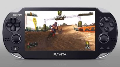 MUD: FIM Motocross World Championship - PS Vita Gameplay Trailer