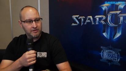 Starcraft II: Blizzcon 2016 - Jason Huck Interview