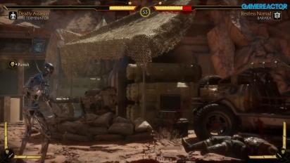 《真人快打11》-終結者T-800  Endoskeleton Gameplay