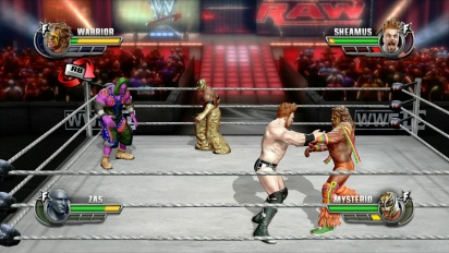 WWE All Stars - Gameplay Tornado Tag Team