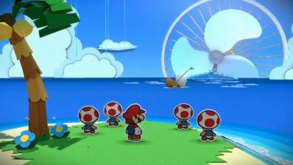 Paper Mario: Color Splash - The Adventure Unfolds Trailer