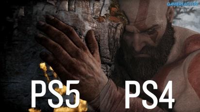 《戰神》- PS4 vs PS5 比較