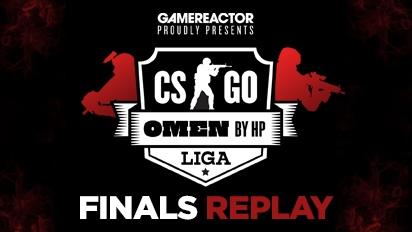 OMEN by HP Liga -《CS:GO》聯賽第2季決賽 - 直播重播