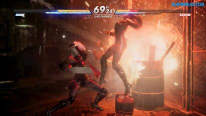 《生死格鬥6》 - 綾音 vs 霞 Gameplay