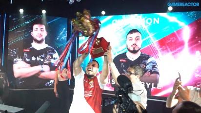 《實況足球》聯賽世界盃決賽 2019 - 冠軍 Usmakabyle 的慶祝
