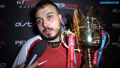 《實況足球》聯賽世界盃決賽 2019 - 冠軍Usmakabyle 訪談