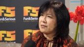 Yoko Shimomura - 娛樂與嚴肅遊戲節 2019 採訪