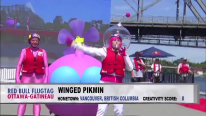 Pikmin 3 - Winged Pikmin Red Bull Flugtag Flight