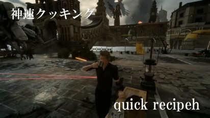 Final Fantasy XV - Episode Ignis Battle Command Trailer