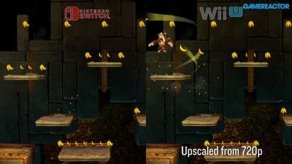 《大金剛 熱帶急凍》任天堂Switch版本 vs  Wii U版本比較 II