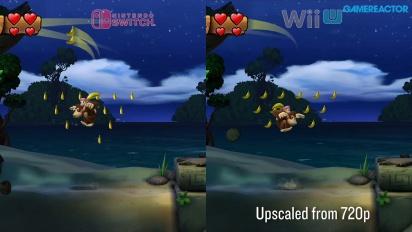 《大金剛 熱帶急凍》任天堂Switch版本 vs  Wii U版本比較 III