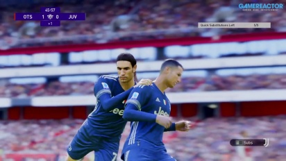 《eFootball PES 2021》- 兵工廠 vs 尤文圖斯 myClub 線上 Gameplay