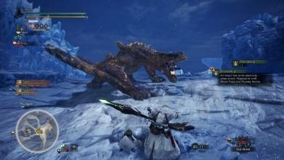 《魔物獵人 世界》-  Iceborne 擴展內容 - 轟龍狩獵 Gameplay
