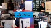 PS5 發行 - 編輯們收到遊戲機