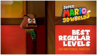 《超級瑪利歐3D 世界》任天堂Switch上最棒的常規關卡