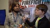 Firefighting Simulator - Gregor H. Max Koch Interview