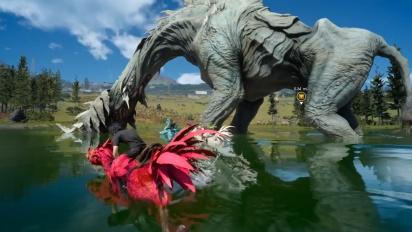 《最終幻想XV:Windows版》-  在達斯卡地區與陸行鳥漫遊 Gameplay