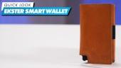 Ekster 智慧型防盜錢包 - 快速查看
