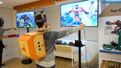 任天堂實驗室:機器人組合包 - 穿上機器人Toy-Con 套裝與 Gameplay