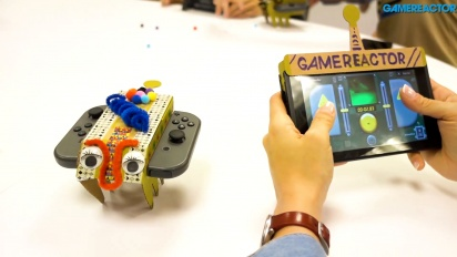 任天堂實驗室:多樣化包 - 組裝遙控車 Toy-Con 及 Gameplay