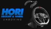 Hori - 賽車方向盤跟環繞聲頸托開箱