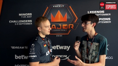 Faceit Major - Nex Interview