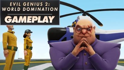 《邪惡天才2:統治世界》- Gameplay