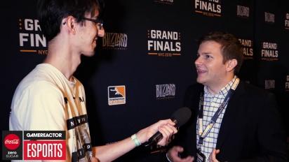《鬥陣特攻》職業電競聯賽決賽- Jon Spector 訪談