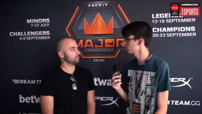 Faceit Major 賽事 - Moses 訪談