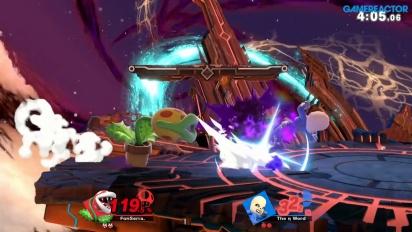 《任天堂明星大亂鬥 特別版》-  吞食花線上 Gameplay