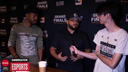 《鬥陣特攻》職業電競聯賽決賽-  Goldenboy 與 Malik Forte 訪談