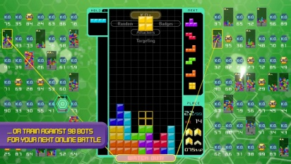 Tetris 99 - Big Block DLC Trailer