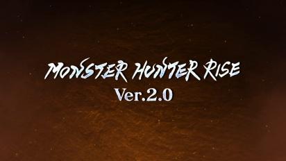 Monster Hunter Rise - Update 2.0 Trailer