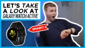 Galaxy Watch Active - 快速查看