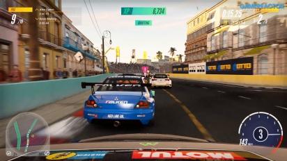 《賽車計畫 3》-  Honda Civic Type R 在  Havana Malecon Loop 上競速