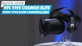 VIVE Cosmos Elite VR頭戴式顯示器與Vive Elite 控制器 - 快速查看