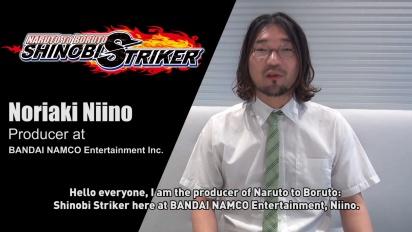 《NARUTO TO BORUTO 新忍出擊》- 來自遊戲製作人的一段訊息